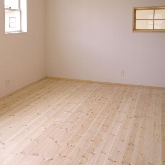床材の美しい部屋